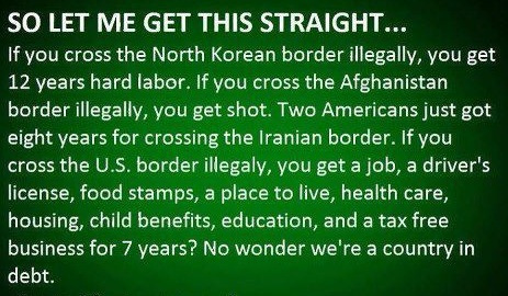 How it works in America!